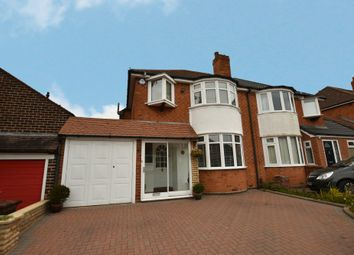 3 bed semi-detached house for sale in Meadow Grove, Solihull B92
