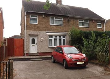 Thumbnail 3 bed semi-detached house for sale in Glapton Road, Clifton, Nottingham