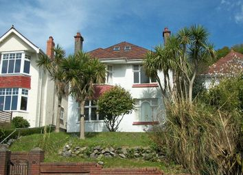 Thumbnail 5 bed detached house for sale in Hillside Crescent, Uplands, Swansea, City & County Of Swansea.