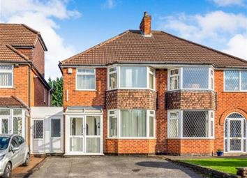 Thumbnail 3 bed semi-detached house for sale in Rushbrook Close, Solihull