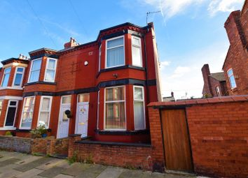 Thumbnail 3 bed end terrace house for sale in Baytree Road, Birkenhead