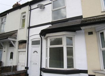 Thumbnail 3 bedroom terraced house for sale in Willenhall Road, Wolverhampton