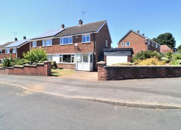 Thumbnail 3 bed semi-detached house for sale in Meadow Road, Blidworth, Mansfield