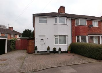 Thumbnail 3 bed end terrace house for sale in Arundel Road, Nr Hollywood, Birmingham