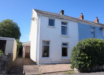 Thumbnail 3 bed end terrace house for sale in Nottage Road, Newton