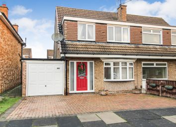 Thumbnail 3 bed semi-detached house for sale in Hurworth Road, Billingham