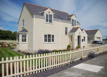 Thumbnail 4 bed detached house for sale in Llanfachraeth, Holyhead