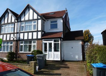 Thumbnail 4 bed semi-detached house to rent in Rydal Gardens, Wembley