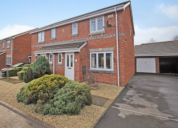 Thumbnail 3 bed semi-detached house for sale in Fell Road, Westbury, Wiltshire