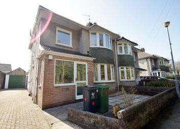 Thumbnail 3 bed semi-detached house to rent in Coryton Drive, Cardiff