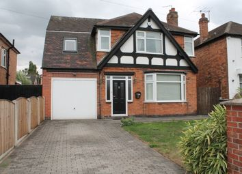 Thumbnail 4 bed detached house to rent in Burton Joyce, Nottingham