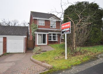 Thumbnail 3 bed detached house for sale in Mercot Close, Oakenshaw South, Redditch