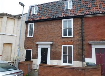 Thumbnail 4 bedroom terraced house to rent in Middle Market Road, Great Yarmouth