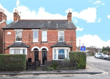 Thumbnail 3 bed semi-detached house for sale in Guildford Road, Chertsey, Surrey