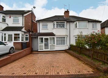 Thumbnail 3 bed semi-detached house for sale in Cubley Road, Hall Green, Birmingham