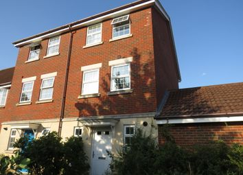 Thumbnail 3 bedroom town house for sale in Abbey Road, Wymondham