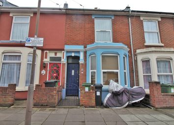 Thumbnail 3 bed terraced house for sale in Seagrove Road, Portsmouth