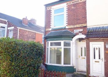 Thumbnail 2 bedroom end terrace house for sale in Eddlethorpe, Hull