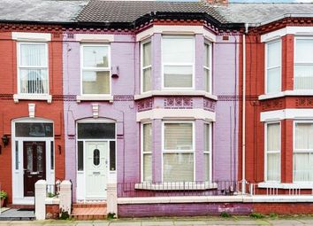 Thumbnail 3 bed terraced house for sale in Kenmare Road, Wavertree, Liverpool, Merseyside