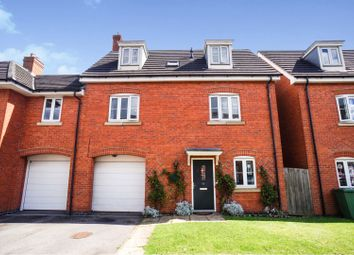 Thumbnail 4 bed link-detached house for sale in Gabriel Crescent, Lincoln