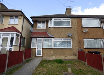 Thumbnail 3 bedroom semi-detached house to rent in Denton Court Road, Gravesend