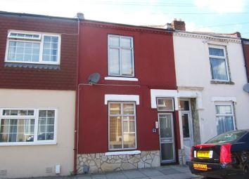 Thumbnail 2 bedroom terraced house to rent in Adair Road, Southsea