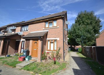 Thumbnail 1 bed end terrace house for sale in Padbury Close, Bedfont, Feltham