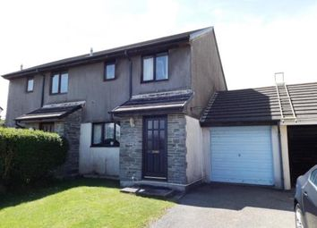 Thumbnail 3 bed semi-detached house for sale in Roche, St. Austell, Cornwall