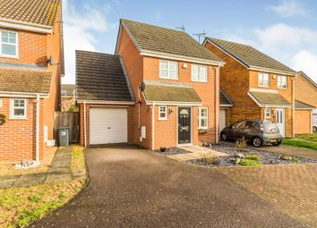 Thumbnail 3 bedroom detached house for sale in The Railway, Henlow