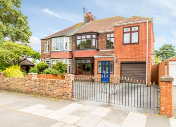 Thumbnail 4 bed semi-detached house for sale in Warwick Road, Redcar, Redcar And Cleveland