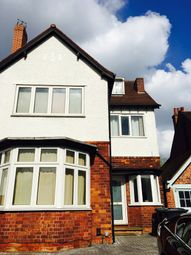 Thumbnail 2 bedroom shared accommodation to rent in Chester Road, Birmingham