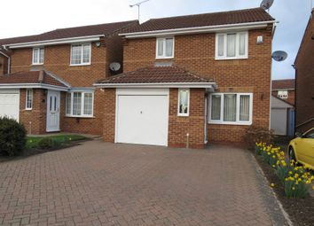 Thumbnail 3 bed detached house for sale in Beaumont Rise, Worksop