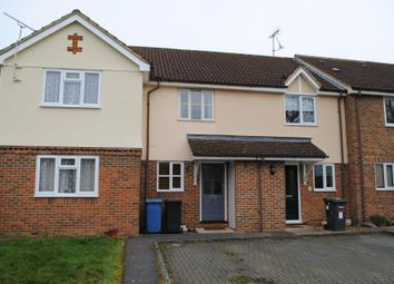Thumbnail 2 bedroom terraced house to rent in Nether Vell-Mead, Church Crookham, Fleet