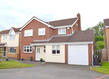 Thumbnail 4 bed detached house for sale in Armour Close, Burbage, Hinckley, Leicestershire