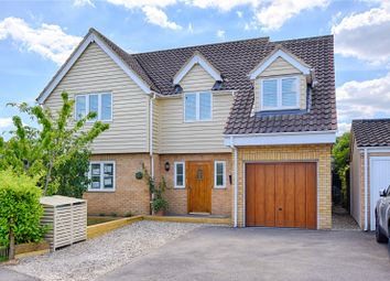 Thumbnail 4 bed detached house for sale in Wetherfield, Stansted