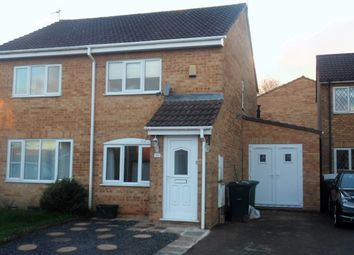 Thumbnail 2 bed semi-detached house to rent in Chedworth, Yate, Bristol