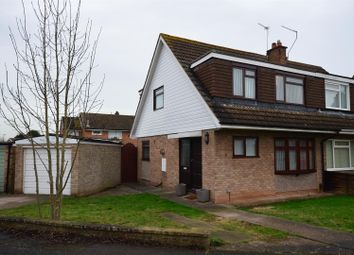 Thumbnail 3 bed semi-detached house for sale in Wigmore Close, Mickleover, Derby