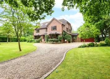 Thumbnail 5 bed detached house for sale in Salters Heath Road, Monk Sherborne, Tadley