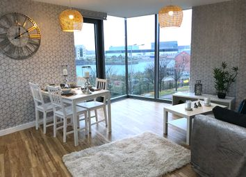 Thumbnail 3 bed flat to rent in Plaza Boulevard, Liverpool