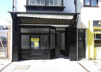 Thumbnail Retail premises to let in Worthington Street, Dover