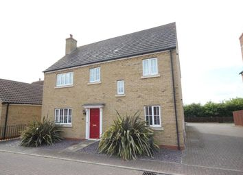 Thumbnail 4 bed detached house for sale in Meadow Lane, Haddenham, Ely
