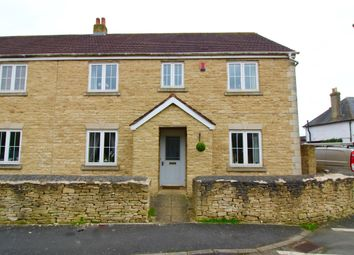 Thumbnail 4 bed semi-detached house for sale in Collett Place, Latton, Swindon