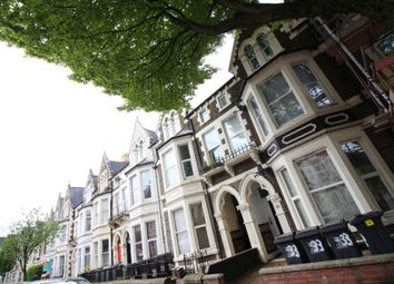 Thumbnail 1 bed terraced house to rent in Connaught Road, Roath, Cardiff