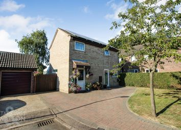 Thumbnail 3 bed detached house for sale in Rectory Close, Long Stratton, Norwich