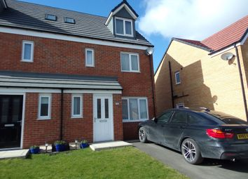 Thumbnail 4 bedroom semi-detached house for sale in Sunningdale Road, Ashington