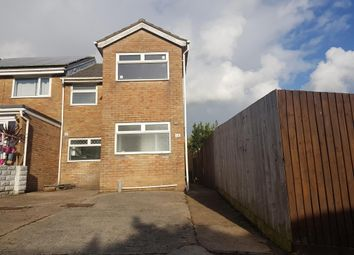 Thumbnail 3 bed property to rent in Cae Siwsan, Brackla, Bridgend