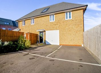 Thumbnail 2 bedroom property for sale in Cromwell Crescent, Papworth Everard, Cambridge