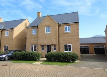 Thumbnail 4 bed detached house for sale in Jubilee Close, Blunham, Bedford, Bedfordshire