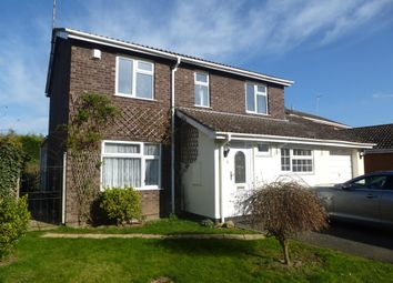 Thumbnail 4 bed detached house to rent in Royle Close, Orton Longueville, Peterborough