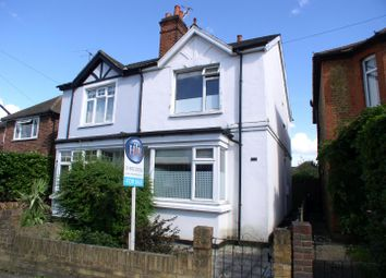 Thumbnail 3 bed semi-detached house for sale in Molesey Road, Hersham, Walton-On-Thames